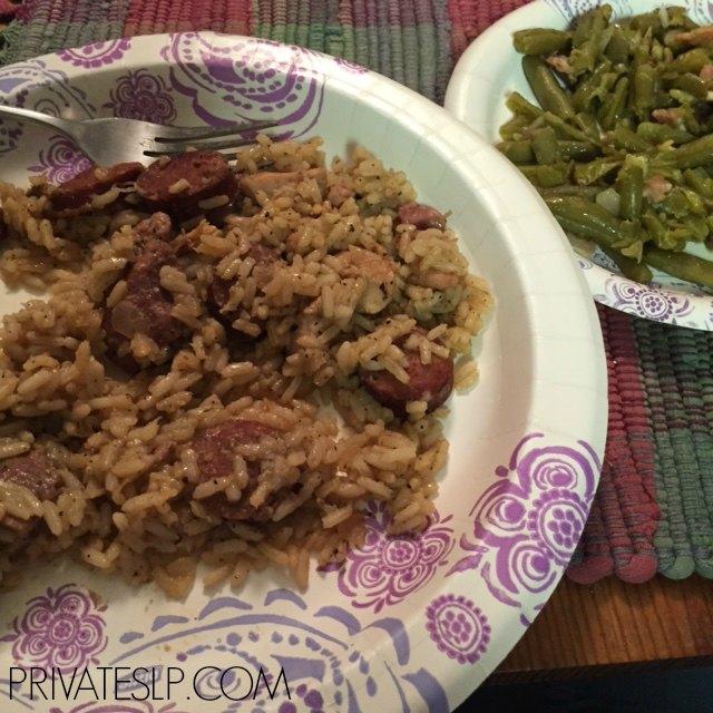 Good food during the flooding of Livingston Parish