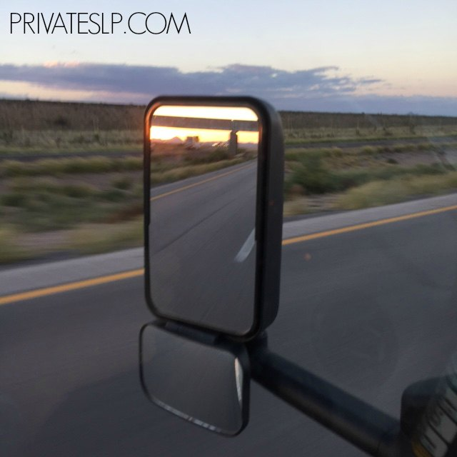 Traveling across Texas